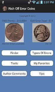 Rich Off Error Coins