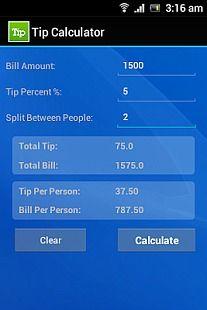 Tip Split Calculator