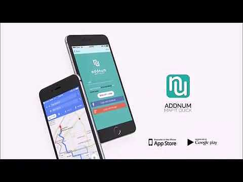 ADDNUM: Event Invitation Card & Route Navigation