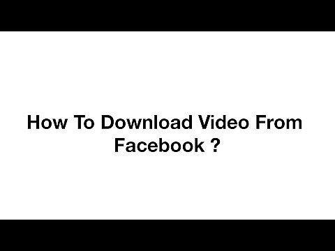 Video Downloader pour Facebook