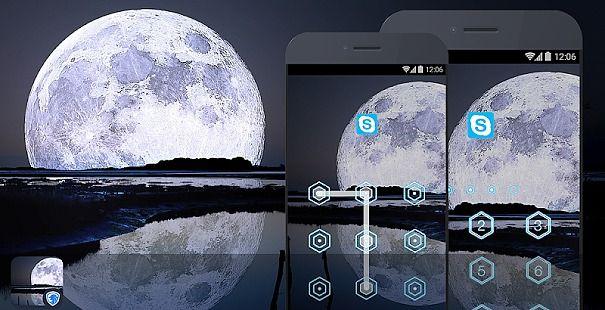 AppLock Theme - Moon