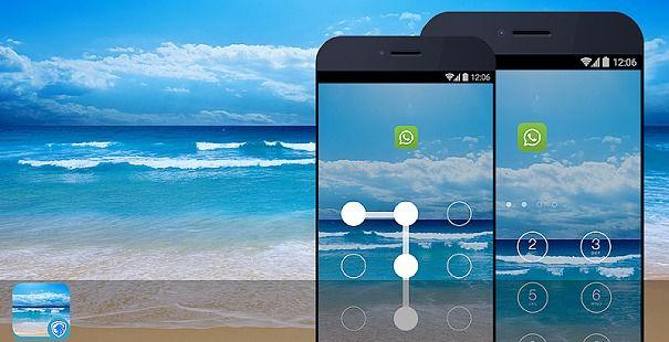 AppLock Theme - Ocean Theme