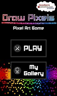 Draw Pixels - Pixel Art Game