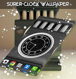 Fond d'écran Super Clock