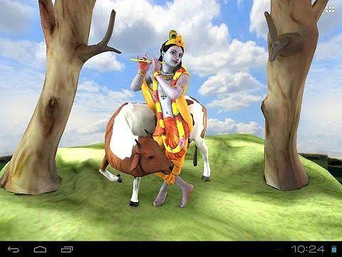 3D Krishna Live Wallpaper