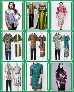 Model Baju Batik Lengkap