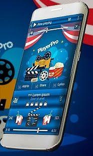 Cinéma PlayerPro Peau