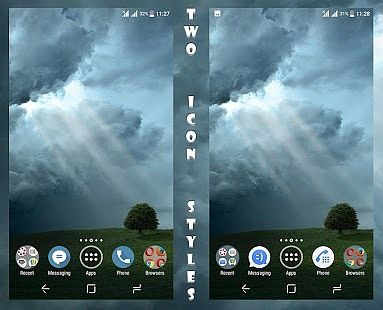 Ray Of Light Theme For Xperia