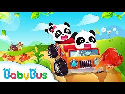 Baby Panda Course de voiture