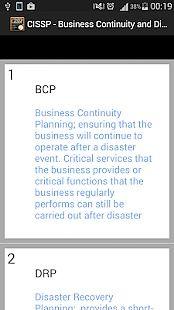 CISSP - BCP & DRP