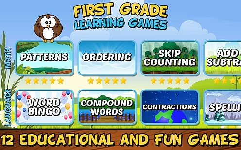First Grade Learning Games (School Edition)