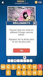 125 Photo Mots croisés