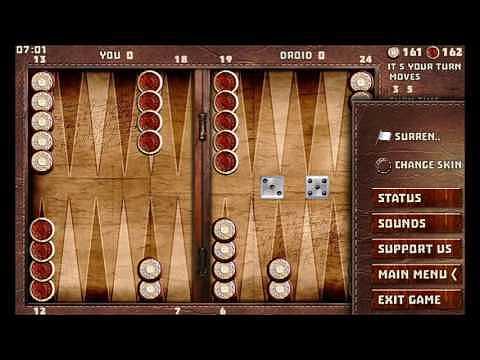 Backgammon 16 games