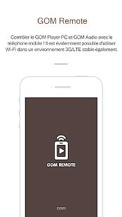 GOM Remote - Télécommande