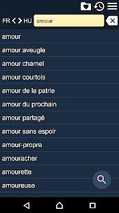 Dictionnaire Français Hongrois