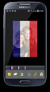 French Flag Pray For Nice