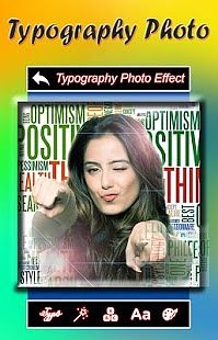 Typography Photo Effect New: Font Editor