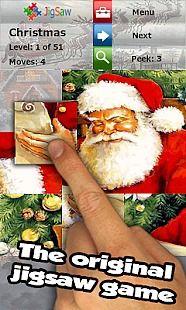 Jeu de puzzle de Noël 2016
