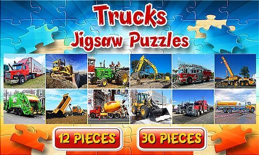 Trucks Puzzles jeu