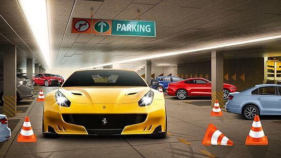 Ville parking voiture Jeu