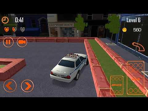 Simulateur d'aventure de stationnement scolaire