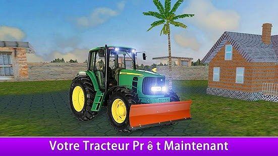 Agriculture tracteur sim 3D