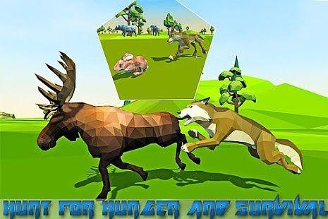 Jungle fantastique simulateur loup