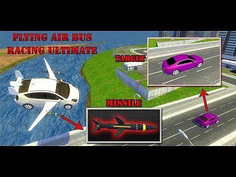 Flying Air Bus Ultimate : Monster Truck Shooter