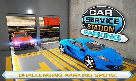 Parking station de voiture