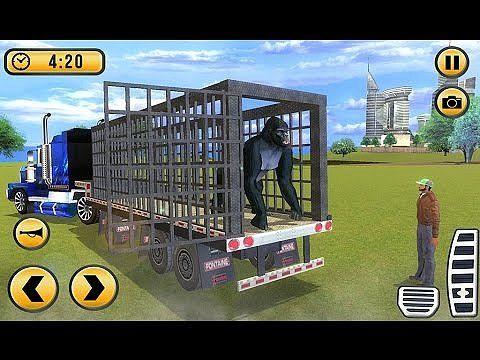 3D Truck Animal Zoo Transport