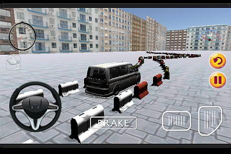 3D Minibus Game Parking