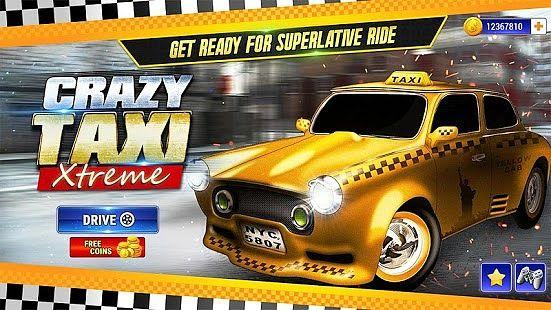 Crazy Taxi Xtreme City Race 3D