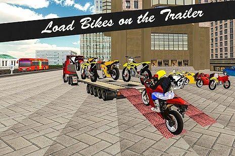 Vélo camion de transport 3D