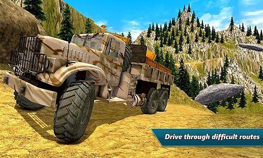 Simulateur  camion transport