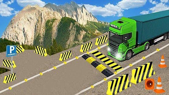 Entraînement camion nouveau 3d