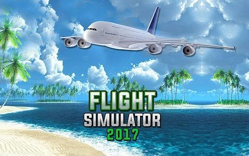 Simulateur de vol d'avion 3D- Pilot Simulator 2017