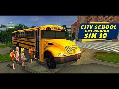 City School Bus Driving Sim 3D