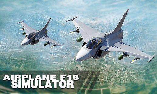 Airplane F-18 Simulator