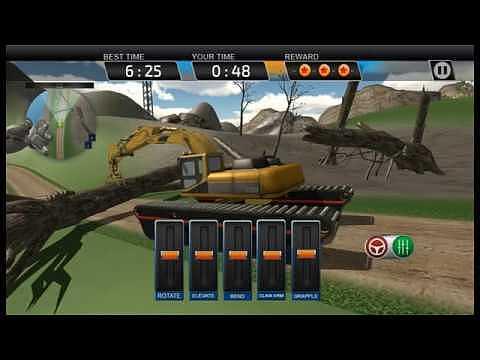 Amphibie Excavatrice Simulator: Construction Crane