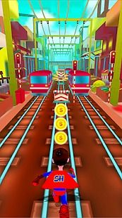 Super Hero Rail Rush Simulator