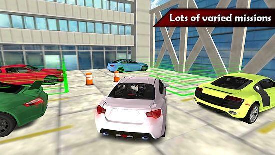 Real City Car Parking Valet 3D