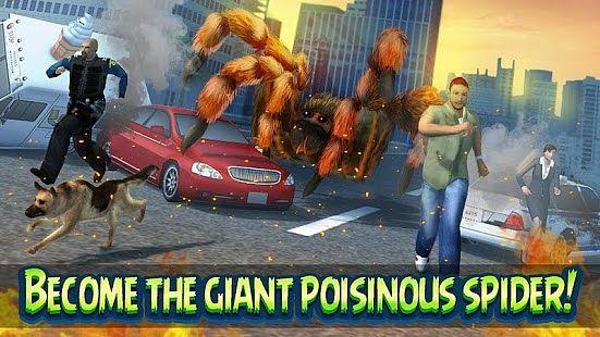 Giant Spider City Attack Simulator 3D