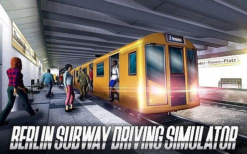 Simulateur de conduite de métro de Berlin