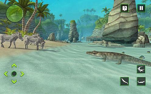 Crocodile Simulator Attack 3D