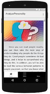 Analyze People Personality