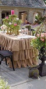 Table Cloth Ideas