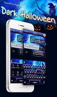 Dark Halloween Keyboard Theme