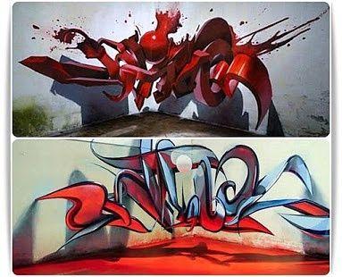 3D Graffiti Design 2017