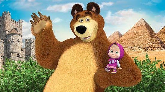 Masha et l'ours: évolution