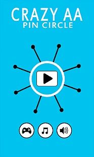 Crazy AA  Pin Circle
